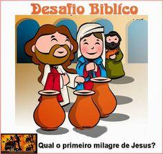 Geração Jovens Adoradores Quiz Biblico, Miracles Of Jesus, Bible For Kids, Try It Free, Sunday School, Education, Books, Fictional Characters, Samara