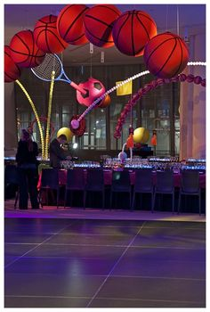 Spectacular Sports Decor from David Stark - Party Favorites - Event Planning Resource - BAR MITZVAHS WEDDINGS BAT MITZVAHS SHOWERS SWEET 16s