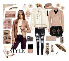 """A touch of leopard"" by suzella on Polyvore"