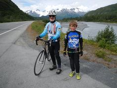 """""""""""11 year old Alex finished his ride """"across Alaska"""" on his UNIcycle""""""""...11 year old Alex finished his ride """"across Alaska"""" on his UNIcycle ! Grampa, and Gramma and grandson Alex completed the very tough 300K ride this year – Fireweed Bike Ride to Valdez – up and over Thompson Pass! A note from Gramma who sent us the photos """"For his...   http://freespiritwear.com/blog/?p=1595"""