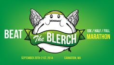 Beat The Blerch is a half marathon, and full marathon inspired by this comic about running. Organized by The Oatmeal, these races are a way for you to figuratively (and literally) Beat The Blerch. I Love To Run, Lets Do It, Running Race, Running Tips, Half Marathon Training, Marathon Running, Run Away With Me, Runner Girl, Runner Runner