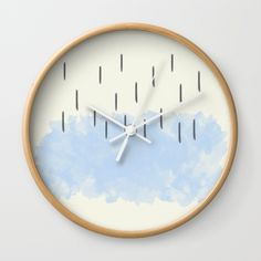 Inner Child IV Wall Clock by swavstudio