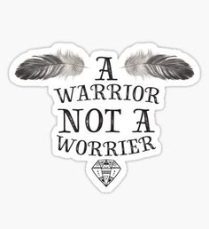 A Warrior Not A Worrier - Boho Design Sticker Homemade Stickers, Diy Stickers, Printable Stickers, Laptop Stickers, Planner Stickers, Christian Quotes Images, Babe Quotes, Key To My Heart, Good Notes