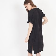Modern Citizen   Modern Citizen     Sakura Relaxed Silken Dress (Black) - 1 $108