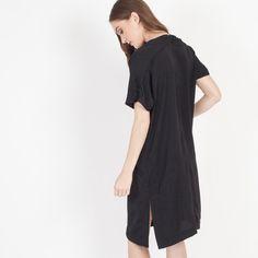 Modern Citizen | Modern Citizen  |  Sakura Relaxed Silken Dress (Black) - 1 $108
