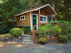Cross the bridge to Harstine Island and enjoy a beautiful and quiet retreat in the woods. Relax in the comfortably furnished cabin or enjoy exploring the 5 acre wooded property and private beach access. Surrounded ...