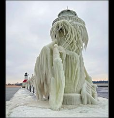 Ice storms and light houses!