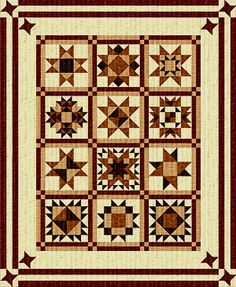 The Quilt Pattern Magazine - free BOM staring in JUNE