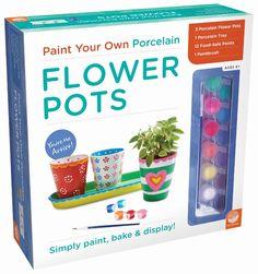 Paint Your Own Flower Pots