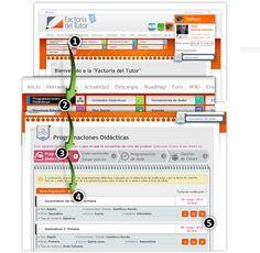Factoría del Tutor. Una plataforma para integrar las TIC en el ámbito educativo. Proceso de generación de programaciones didácticas. #FdT #educacion #tic #evaluacionporcompetencias http://www.factoriadeltutor.com