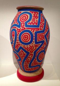 Keith Haring Bad Painting, Oil Pastel Art, Oil Pastels, James Rosenquist, Keith Haring Art, Claes Oldenburg, Jasper Johns, Peter Paul Rubens, Wayne Thiebaud