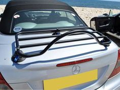 Ford Mustang Convertible Trunk Luggage Rack ;  No Clamps  = No Damage