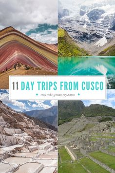 Cusco Peru is a great home base for discovering the Incan empire. Check out these 11 day trips from Cusco for the perfect Peruvian exploration. South America Destinations, South America Travel, Travel Destinations, Travel Tips, Travel Advice, Travel Guides, Travel Articles, Holiday Destinations, Budget Travel