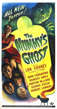 Best Film Posters : – Picture : – Description The Mummy's Ghost starring Lon Chaney, -Read More – Horror Movie Posters, Old Movie Posters, Classic Movie Posters, Cinema Posters, Movie Poster Art, Classic Monster Movies, Classic Horror Movies, Classic Monsters, Classic Films