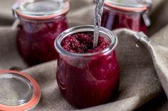 Buraczki czerwone z chrzanem na zimę Nasu, Polish Recipes, Preserves, Pickles, Raspberry, Homemade, Fruit, Cooking, Food