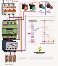 Esquemas eléctricos: Arranque treasico 220v marcha y paro