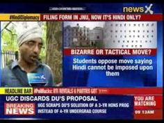 Language row at Jawaharlal Nehru University