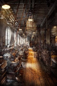 Machinist - Welcome To The Workshop Photograph - Machinist - Welcome To The Workshop Fine Art Print