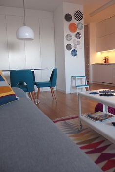 przemiana kuchenno-przedpokojowa cd. 2 - Dymczak Corner Desk, Furniture, Home Decor, Corner Table, Decoration Home, Room Decor, Home Furnishings, Home Interior Design, Home Decoration