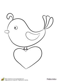 Les 110 Meilleures Images Du Tableau Coloriages D Oiseaux Sur