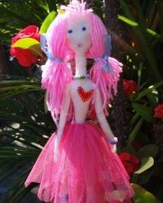 Кукла своими руками на 8 марта