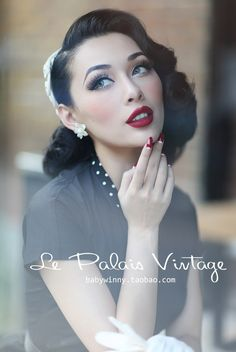 I've been in love with this pin up girl from China named Miss Winny. She's so pretty and tall. I found her on Instagram but since I'm i...