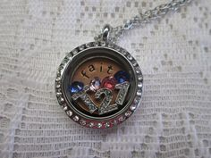 Trisomy Awareness Locket!  Honor someone with Down syndrome!  You could also do T13, T18, so many possibilities!  southhilldesigns.com/janicepalumbos