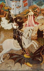 Saint George Killing the Dragon, 1434/35, by Martorell