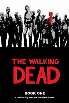 GRAPHIC NOVEL PICK! The Walking Dead / Robert Kirkman & Charlie Adlard ~ Police officer Rick Grimes is shot on the job and wakes up a month later to find that the world that he knows is gone. Zombies have taken over and are killing and eating those who are still alive. He sets out toward Atlanta in the hope that his family is still alive and endures many horrors along the way.