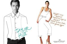 Taylor Marie Hill - the Fashion Spot