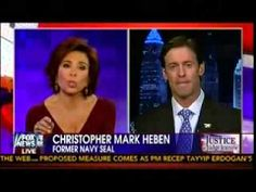 "SEAL: Nobody That Wears a Navy SEAL Trident is a Fan of Obama or Hillary ~ Pub on Jan 19, 2014 ~ Judge Pirro spoke with fmr Navy SEAL Christopher Mark Heben over the criticism Marcus Luttrell's ""Lone Survivor"" is receiving from the left and crap media. ...  They aren't primarily there to nation build and be peacemakers, as Heben points out SEALs are ""nation's 911 response team... to make a person place or thing disappear""! [...]"
