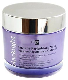 Oligo Blacklight Intensive Replenishing Mask Masque >>> Visit the image link more details. (This is an affiliate link) Rebonded Hair, Acide Aminé, Argan Oil, Amino Acids, Hair Care, Moisturizer, Image Link, Scalp Treatments, Surface