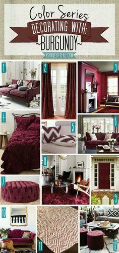 Living Room Decorating Ideas Burgundy Sofa – Modern House