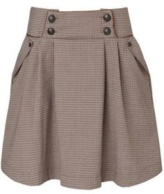 Designer Clothes, Shoes & Bags for Women Cute Skirts, Short Skirts, Cute Dresses, Mini Skirts, Skirt Outfits, Dress Skirt, Vintage Style Dresses, Casual Fall Outfits, Preppy Style