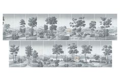 One Kings Lane - Paul Montgomery - Set of 19 Virginia Artwork Panels