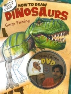 How To Draw Dinosaurs Book and Cd Rom,