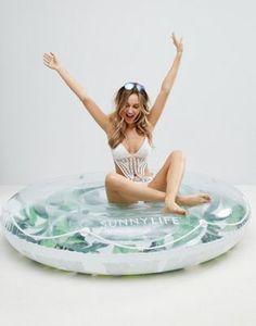 Sunnylife - Anneau palmier de luxe gonflable