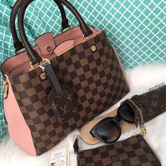 [Louis Vuitton Collection 42]  Just sharing Ma Ives Cano Tayag's (group member) newest addition!  LV Bag: Brittany in Magnolia  LV Eyeglasses case: Etui Lunnettes Rabat   LV Pouch: Mini Pochette in Damier Ebene  .  -----------------------------------------------  Follow us to get your daily dose of Louis Vuitton!