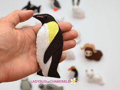 ARCTIC ANIMALS magnets Special edition   Price per 1 item