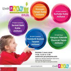 İzmir Park Çocuk Kulübü Eylülde Birbirinden Renkli Etkinlikleriyle Minik Ziyaretçilerini Bekliyor!.