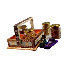 This is a must buy if you want to have a beautiful looking traditional gift on mind. Small Storage Boxes, Diwali Gifts, Wooden Drawers, Traditional Looks, Desk Organization, Perfect Wedding, House Warming, Wedding Invitations, Decorative Boxes