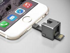 61cc0bcb5e7f4 WonderCube - Everything your Phone Needs in a Cubic Inch · Tecnologia ConectadosAccesoriosLlaveroTecnología ...
