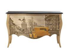 Autós komód   Endrédi Design Entryway Tables, Dresser, Furniture, Home Decor, Powder Room, Decoration Home, Room Decor, Stained Dresser, Home Furnishings