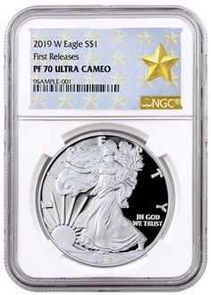 2015 W NGC PF70 SILVER EAGLE FUN SHOW FIRST DAY RELEASE PROOF ULTRA CAMEO