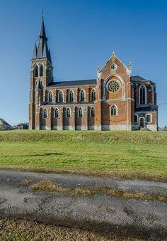 Eglise de St-Jean-des-Bois © Dominique LEMOINE #Ardennes #France