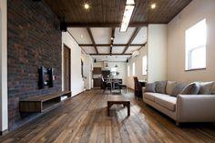 ブルックリンスタイルの家~暮らしを最大限に楽しむ~