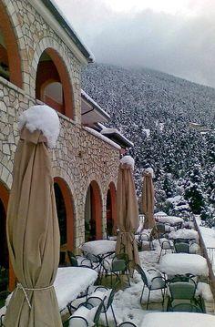 Vitina Mountain View Hotel, Arcadia, Greece | Flickr - Photo by VYTINA MOUNTAIN VIEW HOTEL