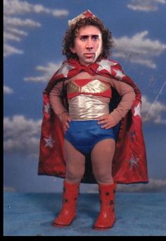NIC CAGE AS WONDER BABY