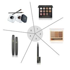 HUAMIANLI Makeup Set eye shadow eyebrow Eyeliner mascara Eyeliner Make-up cosmetics set Makeup Tool Kit Maquiagem