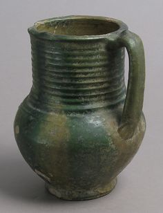 Date: 13th–14th century Culture: French Medium: Earthenware, glaze Dimensions: Overall: 6 11/16 x 4 15/16 x 5 3/8 in. (17 x 12.6 x 13.6 c...
